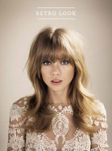 Beautiful Bangs and Soft Long Layers with subtle hi and low lights